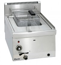 Fritteuse Gas 600, B400, 1x8L