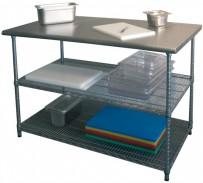 Arbeitstisch, 1300x690x880-900 mm, Füße höhenverstellbar,