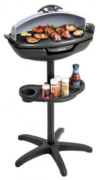 Barbecue Grill, Stand und Tisch