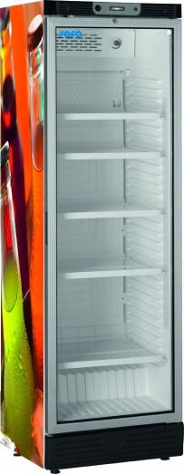 Flaschenkühlschrank mit Umluftventilator Modell SC 390