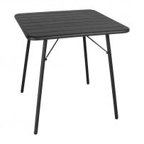 Bolero Stahltisch schwarz 70cm