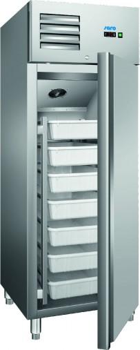 Fischkühlschrank mit Umluftventilator Modell GN 600 TNF