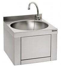 Handwaschbecken, Knie-Bedienung