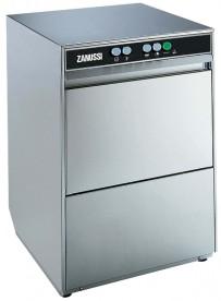 Gläserspülmaschine, mit Spülmittel- / Klarspülmittel-Dosiergerät und Laugenpumpe