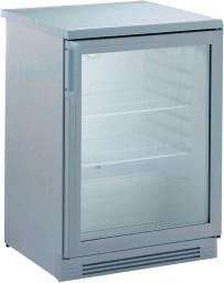 Umluft-Gewerbekühlschrank, mit Glastür, unter- und einbaufähig