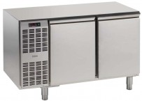 Tiefkühltisch, steckerfertig, 2 Türen Korpushöhe: 650 mm, Tiefe: 700 mm