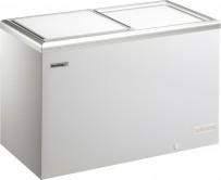 Tiefkühltruhe, mit geschäumtem Schiebedeckel und Aluminiumrahmen, verschiedene Breite- und Tiefemaße wählbar