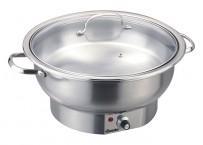 Chafing Dish, EL, rund, 3,8L