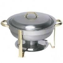 Chafing Dish, 3,5 ltr., Ø 30 cm, Chromnickelstahl