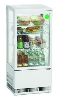 Mini-Kühlvitrine 78L, weiß