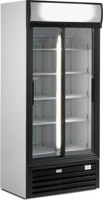 Glasschiebetüren-Kühlschrank SLDG 600 - Esta