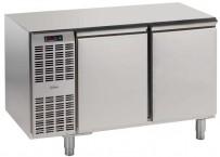 Kühltisch, 2 Abteile, steckerfertig, 2 Türen Korpushöhe: 650 mm, Tiefe: 700 mm