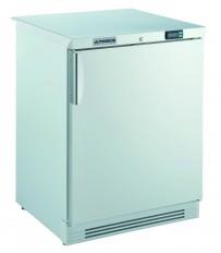 Gewerbetiefkühlschrank, mit statischer Kühlung und weißer Volltür, unter- und einbaufähig