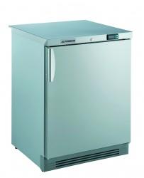 Gewerbetiefkühlschrank, mit statischer Kühlung und CHR-Volltür, unter- und einbaufähig