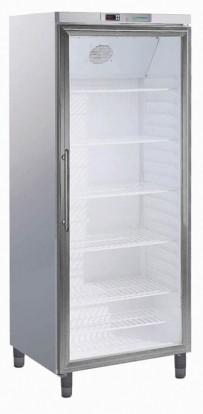 Umluft-Gewerbekühlschrank, mit Glastür, für EN 600 x 400 mm
