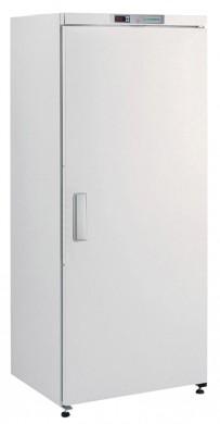 Umluft-Gewerbekühlschrank, in weiß lackiert, mit Volltür, für EN-Bleche 600 x 400 mm