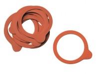 10er Set Gummidichtringe für Deckel der Weck-Gläser