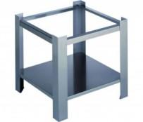 Unterbau für Hockerkocher 3050 600, 42,5 x 42,2 x 38 cm, Chromnickelstahl