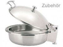 Speiseneinsatz für Induktions Chafing Dish, 4,6 ltr., Chromnickelstahl