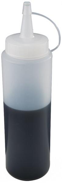 Quetschflasche Ø 5 cm, H: 18 cm, 0,2 Liter