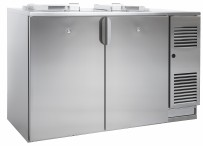 Abfallkühler, steckerfertig, fertig montiert für 2 x 120 l Mülltonne