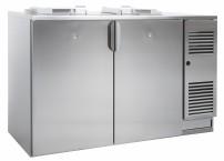 Abfallkühler, steckerfertig, fertig montiert für 2 x 240 l Mülltonne