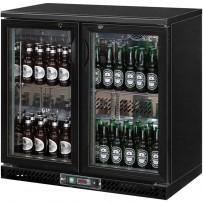 Bar Cooler, 223 Liter, zwei Schiebetüren, 920 x 535 x 925 mm (BxTxH)