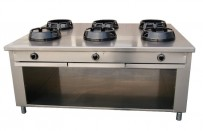 Allgas-Chinaherd, 1850x1400x850 mm,
