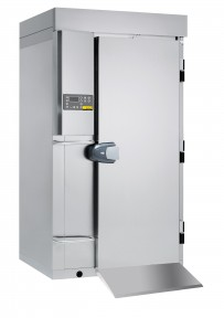 Schnellkühler / Schockfroster, Version Topline - Durchfahrmodell für Hordenwagennutzung mit bis zu 20 x GN 1/1 oder EN 600 x 400 - 65 mm Grundausstattung ohne Maschinensatz