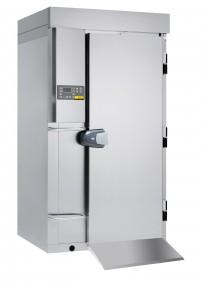 Schnellkühler / Schockfroster, Version Topline - Einfahrmodell für Hordenwagennutzung mit bis zu 20 x GN 1/1 oder EN 600 x 400 - 65 mm Grundausstattung ohne Maschinensatz