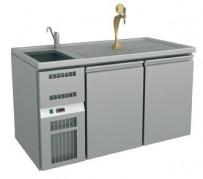 Ausschanktheke 1565x700x900 mm, Umluftkühlung,