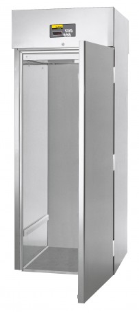 Einfahrtiefkühlschrank, steckerfertig, für Hordenwagen GN 2/1*, GN 1/1 oder EN 600 x 400 mm