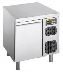 Kühltisch, steckerfertig, mit 1 Tür, für GN 1/1 Tiefe: 700 mm, Korpushöhe: 650 mm