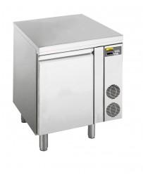 Kühltisch, zentralgekühlt, mit 1 Tür, für GN 1/1 Tiefe: 700 mm, Korpushöhe: 650 mm