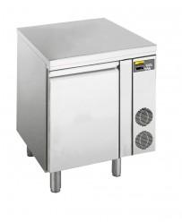 Kühltisch, zentralgekühlt, mit 1 Tür, für GN 1/1 Tiefe: 700 mm, Korpushöhe: 700 mm