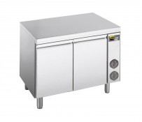Kühltisch, zentralgekühlt, mit 2 Türen, für GN 1/1 Tiefe: 700 mm, Korpushöhe: 650 mm