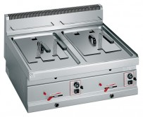 Friteuse Gas 800x700x290 mm, Korbabmessungen: 2x