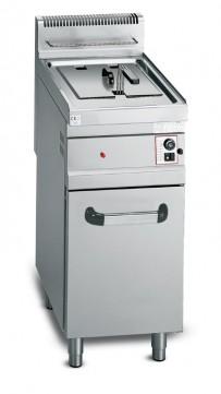 Gas-Friteuse Standgerät, 400x700x900 mm,  Piezzozündung,