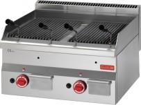 Gastro M 600 Gas Lavasteingrill 60/60