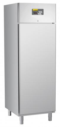 Umluft-Gewerbetiefkühlschrank, steckerfertig, für GN 2/1