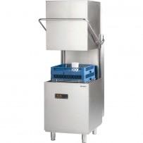 Haubenspülmaschine Universal inkl. Klarspülmittel- und Reinigerdosierpumpe, 400V, 6,8 kW