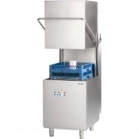 Haubenspülmaschine DigitalPower inkl. Klarspülmittel-, Reinigerdosier- und Klarspülpumpe, 400V, 10 kW