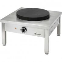 Elektro-Hockerkocher STANDARD, 1 Kochplatte, 400 Volt, 580 x 580 x 380 mm (BxTxH)