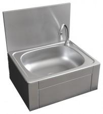 Handwaschbecken mit Kniebedienung, 400x400x260mm