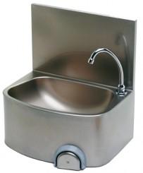 Handwaschbecken 480x360x520 mm, Edelstahl,