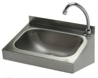 Handwaschbecken 400x320 mm, Edelstahl