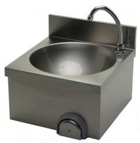 Handwaschbecken 400x400x235 mm, Edelstahl