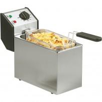 ROLLER GRILL Fritteuse, 5 Liter, Abmessung 190 x 425 x 320 mm (BxTxH)