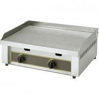 ROLLER GRILL Gas-Griddleplatte, zwei Heizzonen, Abmessung 620 x 450 x 190 mm (BxTxH)