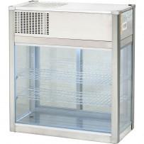 Auftisch-Kühlvitrine, 162 Liter, Abmessung 808 x 413 x 940 mm (BxTxH)